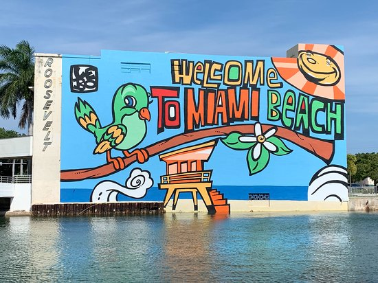 Miami Beach Welcome Mural