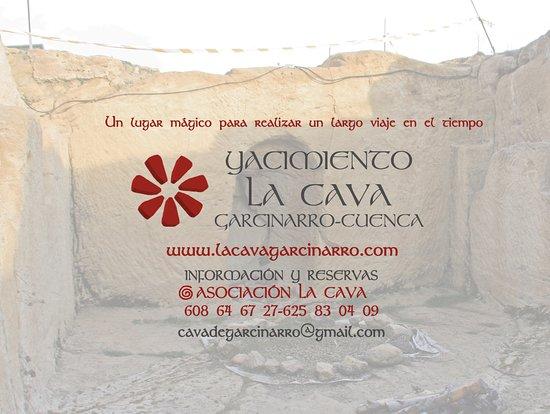 Información para visitar La Cava en Garcinarro www.lacavagarcinarro.com