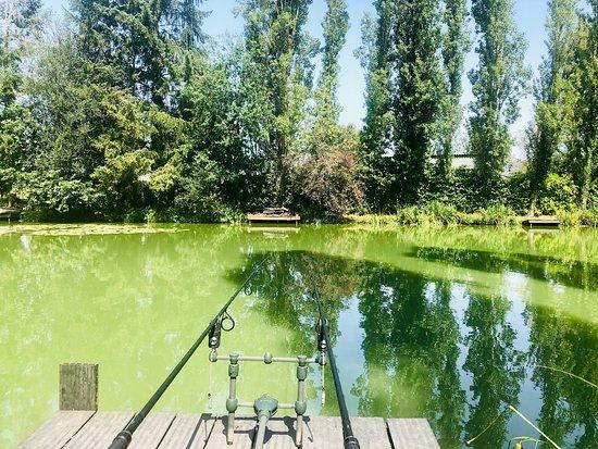 Retiers, France: Barbret lake