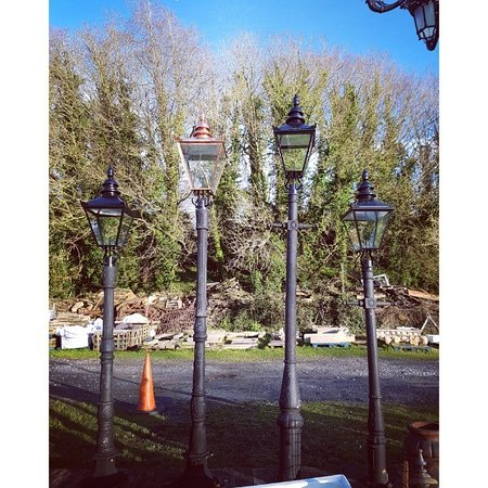 Cast Iron Avenue Lights Picture Of