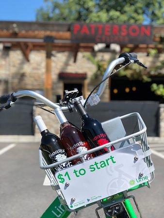 Patterson Cellars - SODO: Lime Bikes