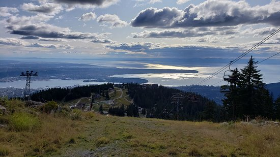 Grouse Mountain Admission: view of Vancouver