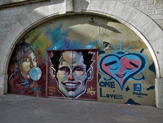 """Fresque """"L'homme"""""""