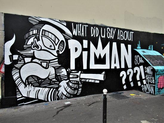 "Fresque ""What did U about Piman ??"""