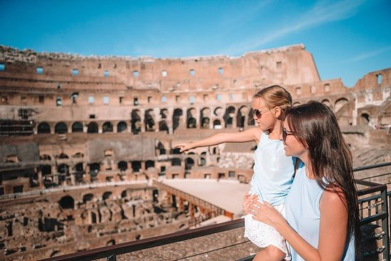 Colosseum for barn med undergrunnen i...