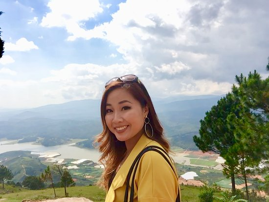 Lac Duong, Vietnam: On the top of Lang Biang