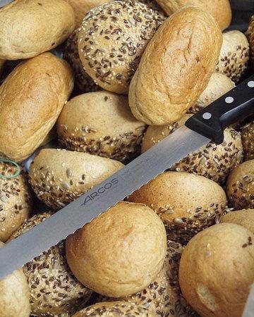 Nuestro magnífico pan, 60% espelta, 40% trigo