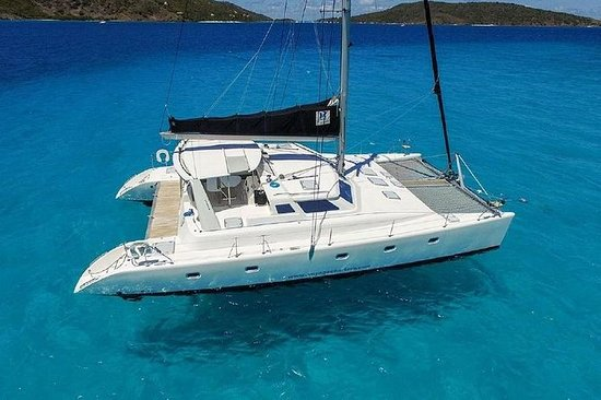 50'私人双体船。豪华,沙滩和浮潜。离开玛格丽塔维尔