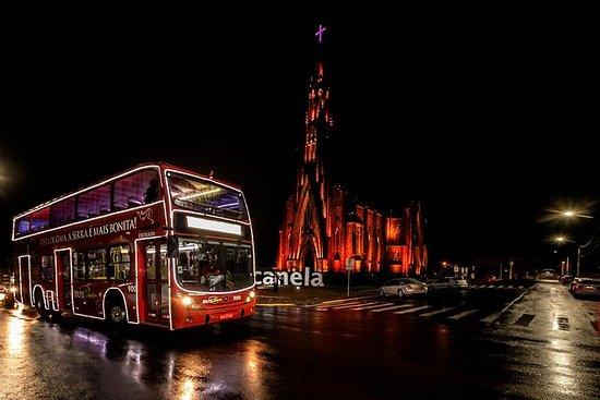 Recorrido en bus de iluminación