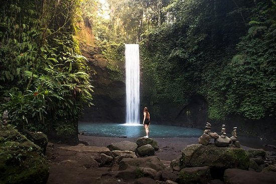 Excursión a las cataratas de Bali...