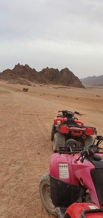 Quadtour in die Wüste
