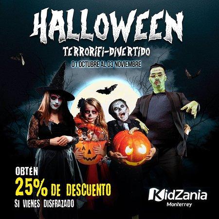 ¡El Halloween se acerca a Monterrey, vive la experiencia #TerrorifiDivertida en KidZania! : Términos y Condiciones en http://bit.ly/HalloweenMTY