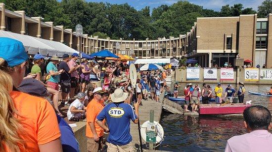 Reston Historic Trust & Museum: 2019 Reston Museum's Lake Anne Cardboard Boat Regatta