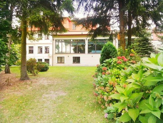 Radziejowice, Lengyelország: piekny ogród