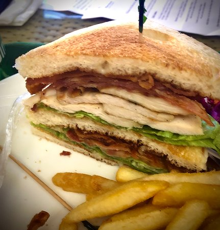 Sheraton Guam: Awesome club sandwich from room service.