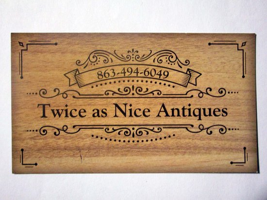 Twice as Nice Antiques