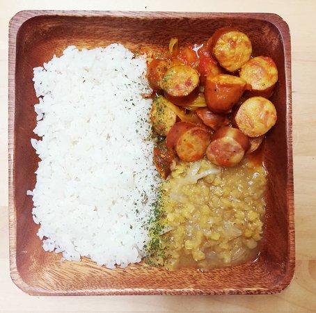 レユニオンカレー Reunion curry
