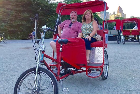 Central Park Sights Pedicab Rickshaw Tours