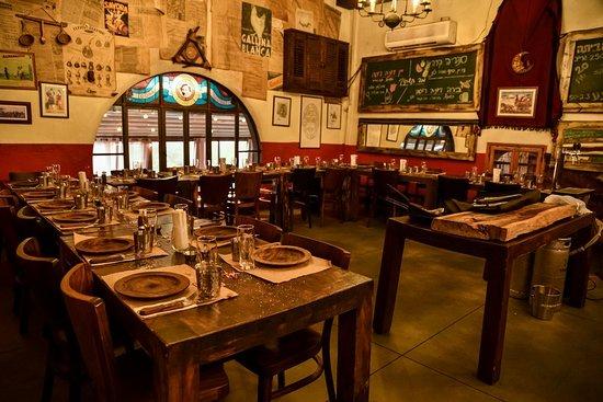 Ein Hod, Israel: מסעדה בעין הוד מקום מומלץ לארוחות טובות !  10 דקות נסיעה מבית אירוח ולינה לוי בית בכפר גבע כרמל .