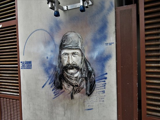 "Fresque ""Louis Blériot"""