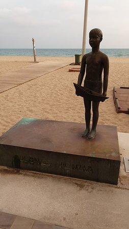 Segur de Calafell, Spanien: Statue