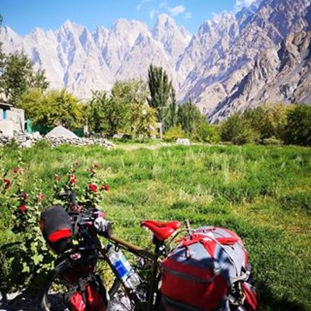 Pasu, Pakistan: The View From Cathedral View Guest House & Restaurant Passu