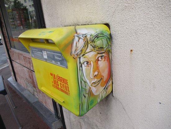 """Fresque """"Amélia Earhart"""""""