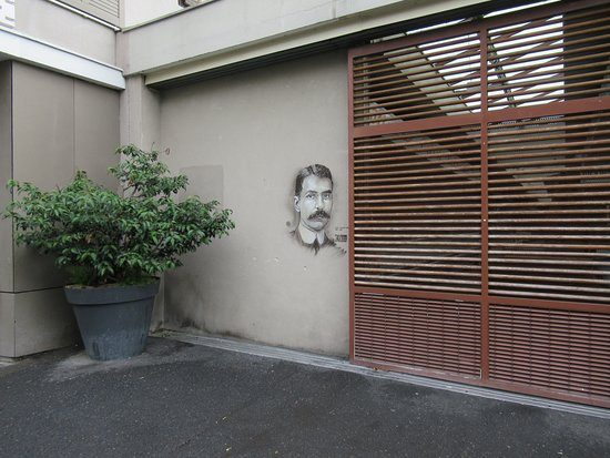 "Fresque ""Louis Charles Breguet"""