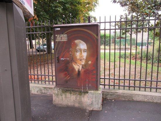 """Fresque """"Alberto Santos-Dumont"""""""