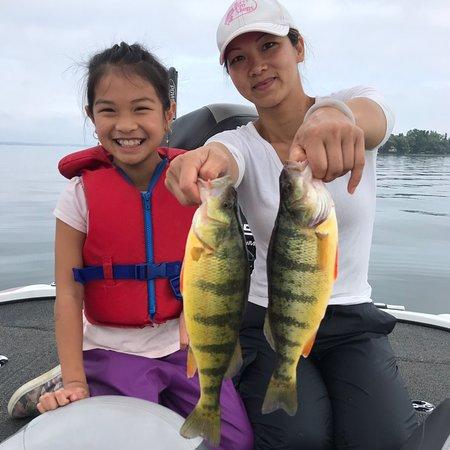 Lake Simcoe jumbo perch
