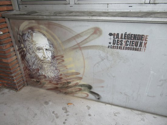 "Fresque ""Léonard de Vinci"""