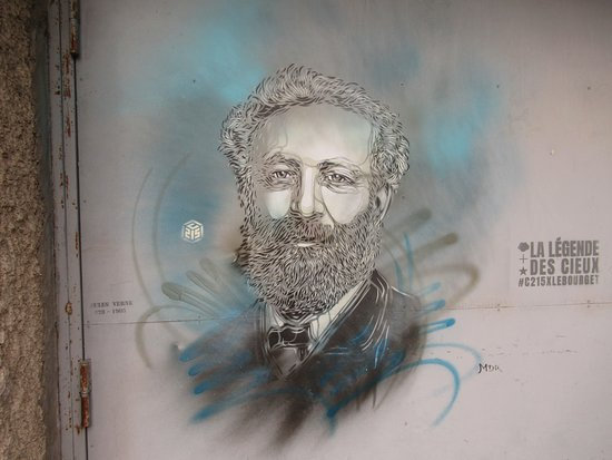 "Fresque ""Jules Verne"""