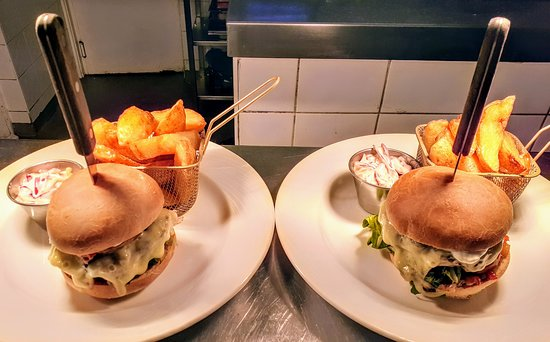 Carterway Heads, UK: Any 2 Burgers for £14.00 with triple cooked chips. All day Thursdays
