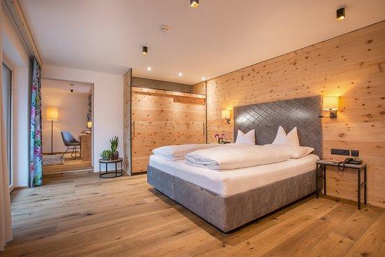 Stumm, Oostenrijk: Schlafzimmer Turm Suite