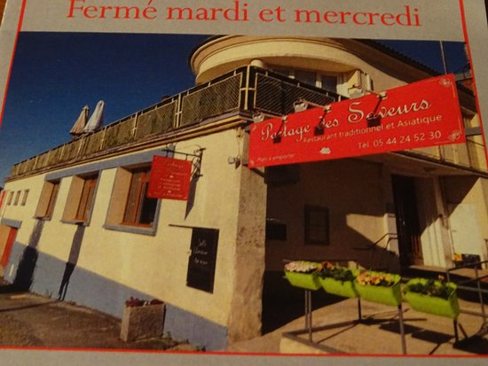 Chalus, Frankrijk: le restaurant