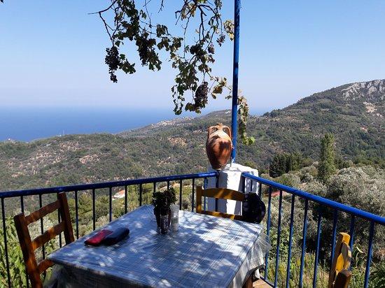 Manolates, Yunanistan: Aussicht