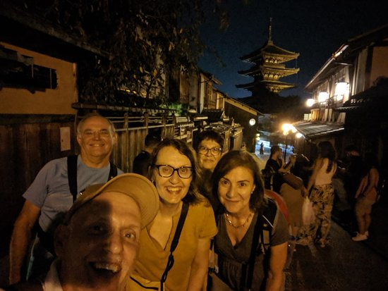 Kyoto Free Night Walking Tour