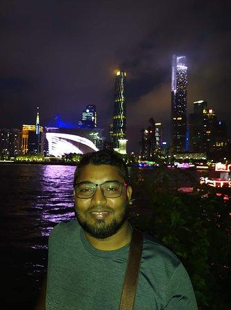 natural night view