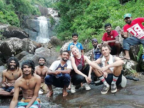 Waterfall in rakwana