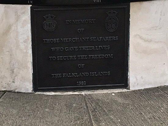 Merchant Navy Falklands Memorial