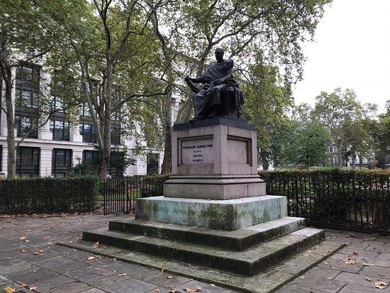 Charles James Fox Statue