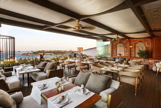 Georges Hotel Galata: TERRACE RESTAURANT