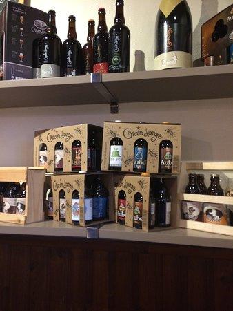 Hombourg, Belgia: Bier verkoop voor thuis