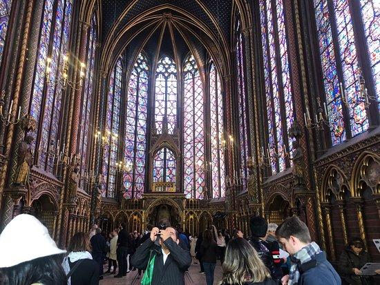 Paris Sainte Chapelle in Palais de la Cité Skip the Line Entrance Ticket صورة فوتوغرافية