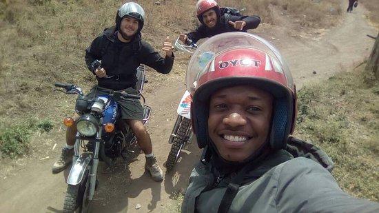 Monduli, Tanzania: motorbike tour