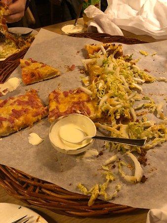 Gjennomsnittlig pizza resturang