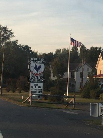 Bridgeville, DE: New Sign