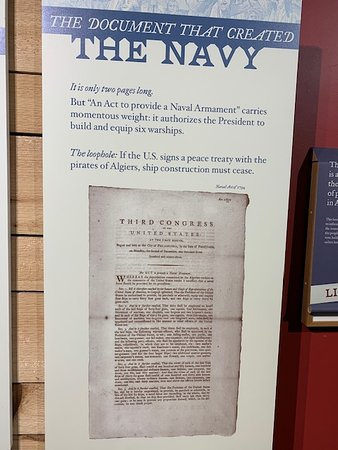 Independence Seaport Museum Admission: Establishment of the Navy