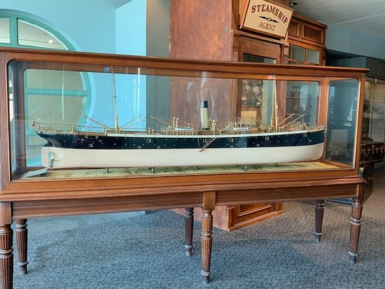 Independence Seaport Museum Admission: Steamship model