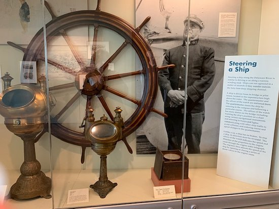 Independence Seaport Museum Admission: Steering